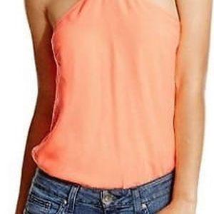 Guess Dámské oranžové body Blanca Bodysuit XL