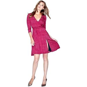 Guess Dámské šaty Weena Printed Wrap Dress S