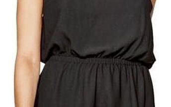 Guess Dámské černé šaty Kaiya Flounce Dress M