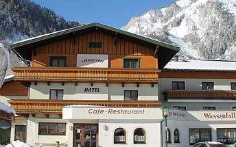 Silvestr na horách: Rakousko - Kaprun / Zell am See na 8 dní, polopenze s dopravou vlastní