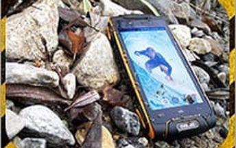 Vodotěsný a téměř nerozbitný telefon EVOLVEO StrongPhone Q8 LTE na dvě sim karty za báječnou cenu!