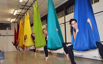 Létací jóga, Pole dance a Aerial Hoop v Airku
