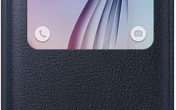 Samsung pouzdro S View EF-CG920P pro Galaxy S6 (G920), černá - EF-CG920PBEGWW
