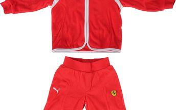 Dětská fleecová sportovní souprava Puma Ferrari vel. 1 -1,5 roků