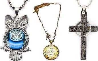 Magické amulety s různou symbolikou ve 12 provedeních