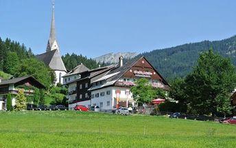 Silvestr na horách: Rakousko - Dachstein West na 8 dní, polopenze nebo snídaně s dopravou vlastní