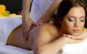 Osvěžující 30minutová masáž zad a šíje