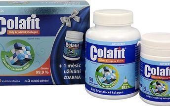 APOTEX Colafit dárkové balení – 120 kostiček + Colafit Akut Pro krém 50 ml