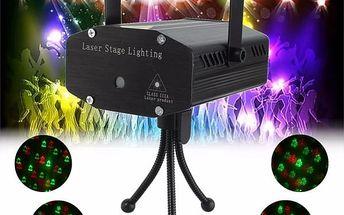 Vánoční laserový projektor