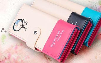 Pestrobarevná peněženka Besweet Chiara