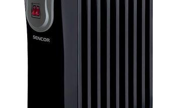 Elektrické topidlo Sencor SOH 3109BK