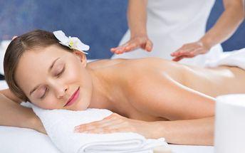 40-90minutová relaxační aroma masáž v Salonu Azeeza