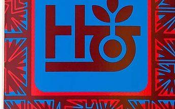 deska HABITAT - Aztec Pod Red (RED)