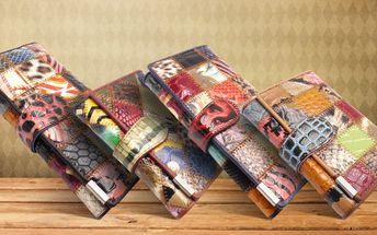 Patchworkové peněženky: Záplata na záplatě