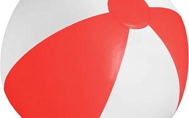 Nafukovací plážový míč - červená - dodání do 2 dnů