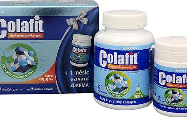 Apotex Colafit (čistý kolagen) 120 kostiček + masážní krém Colafit Akut Pro 50 ml ZDARMA