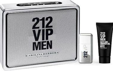 Carolina Herrera 212 VIP Men toaletní voda pro muže 50 ml Set X16