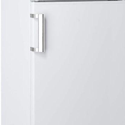 Kombinovaná lednička s mrazákem nahoře Candy CCDS 5144 WH (poškozené záda a promáčklý pravý zadní roh)