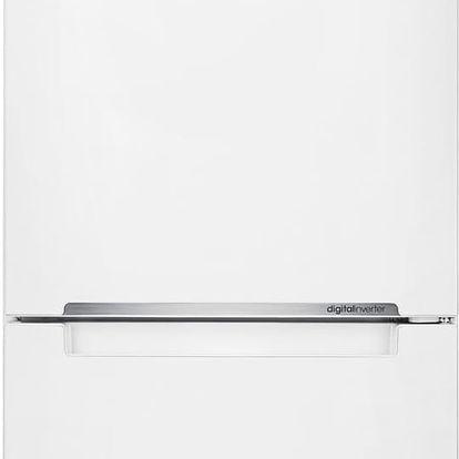 Kombinovaná lednička s beznámrazovým systémem Samsung RB 31FERNBWW + 10 let záruka na kompresor (drobné promáčkliny na dveřích, pravém a levém boku)