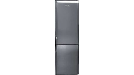 Kombinovaná lednička s mrazákem dole Beko CSA 29022 X