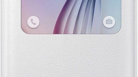 Samsung pouzdro S View EF-CG920P pro Galaxy S6 (G920), bílá - EF-CG920PWEGWW