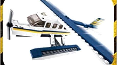 Stavebnice Sluban, báječná hračka pro ty nejmenší. Pořiďte dětem krásné letadlo za skvělou cenu!