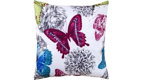 Povlak na polštář s motýlími motivy