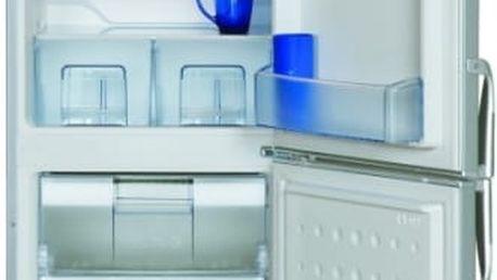 Kombinovaná lednička s mrazákem dole Beko CSA 24022 X