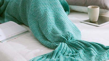 Deka mořské panny 70 x 140 cm