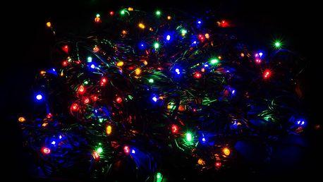 Vánoční LED osvětlení - 50 LED řetěz zelený