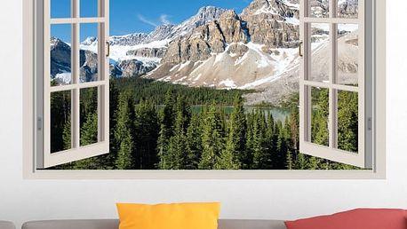 Samolepka na zeď - Kanadské hory
