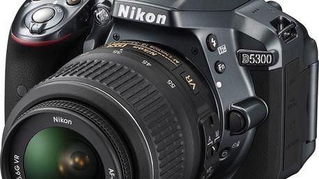Digitální zrcadlovka Nikon D5300 GREY + 18-55 AF-S DX VR II