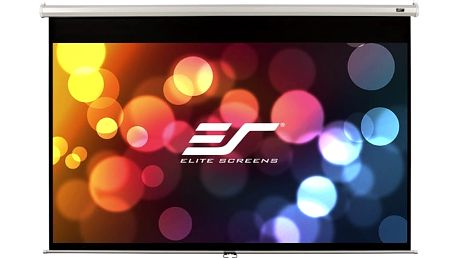"""Elite Screens plátno roleta 120"""" (304,8 cm)/ 16:9/ 149,4 x 265,7 cm/ case bílý - M120XWH2"""
