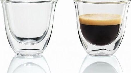 Příslušenství k espressu a kávovaru DeLonghi 2 skleničky Espresso