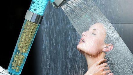 Sprchová hlavice s filtračními minerály