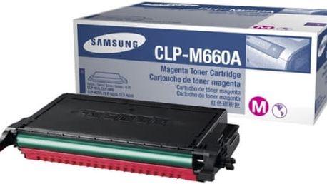 Purpurová tonerová kazeta Samsung pro CLP-660/CLX-6200 (CLP 660/CLX 6200, CLP660/CLX6200), velká - Originální