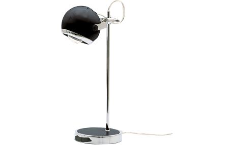 Retro stolní lampa, černá