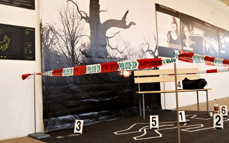 Výstava - Stopa vyřeš zločin