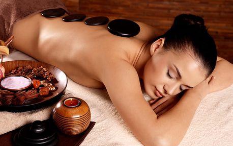 Až 5x masáž dle výběru: lymfatická ruční masáž nebo masáž lávovými kameny na 60-90 minut