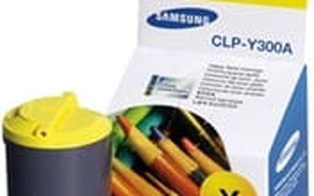 Žlutá tonerová kazeta Samsung pro CLP-300 (CLP 300, CLP300) - Originální