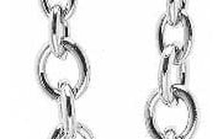 Náhrdelník stříbrné barvy Guess Heart Locker - doprava zdarma!