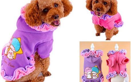 Roztomilý obleček pro psy Princess