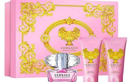 Versace Bright Crystal toaletní voda pro ženy 50 ml Set X16