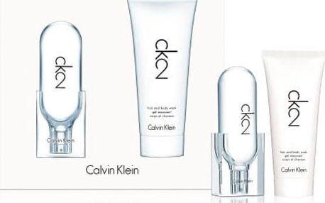Calvin Klein CK2 toaletní voda unisex 50 ml Set X16