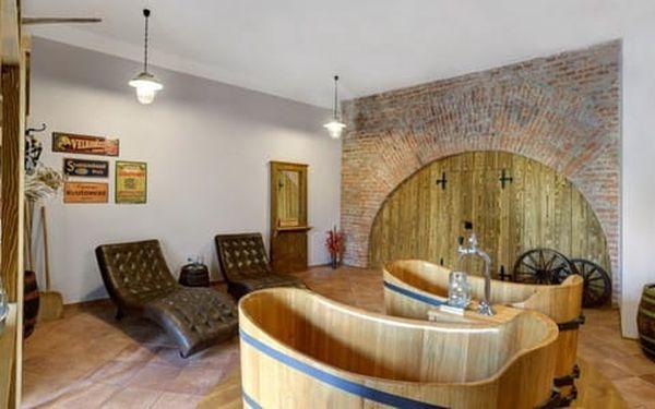Lázně Poděbrady s pivní vířivou koupelí, neomezenou konzumací piva a ubytováním v hotelu Soudek2