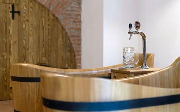Lázně Poděbrady s pivní vířivou koupelí, neomezenou konzumací piva a ubytováním v hotelu Soudek3