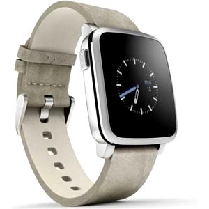 Pebble Time Steel Smartwatch (51100023) stříbrná