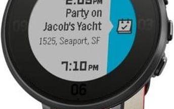 Pebble Time Round Smartwatch, 14mm pásek (60100045) černé/červené