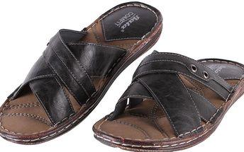 Pánské pantofle Baťa vel. EUR 41, UK 7