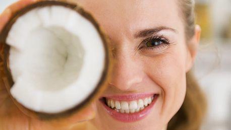 100% čistý kokosový olej - 1l: vhodný pro smažení, pečení a vaření nebo do salátů